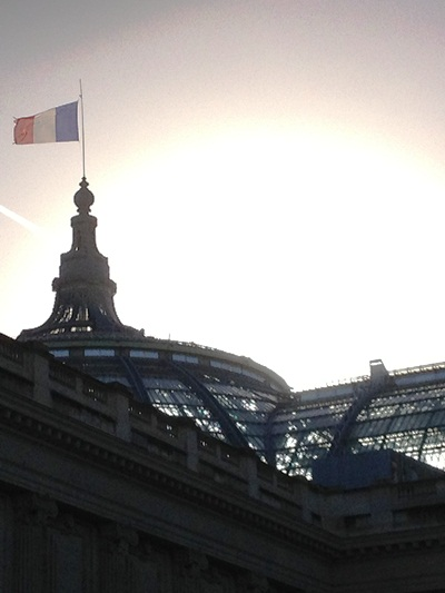 Photo of the Grand Palais in Paris