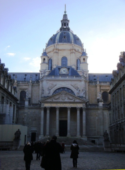 A walk at the Sorbonne