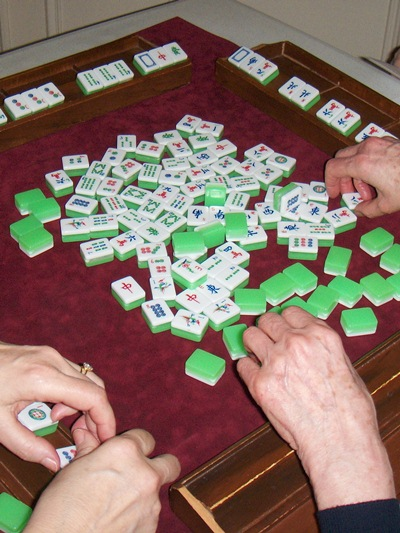 Mahjong board