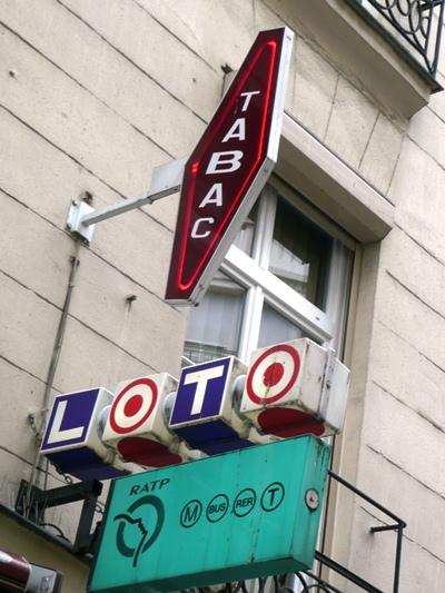 Photo of Paris street signs